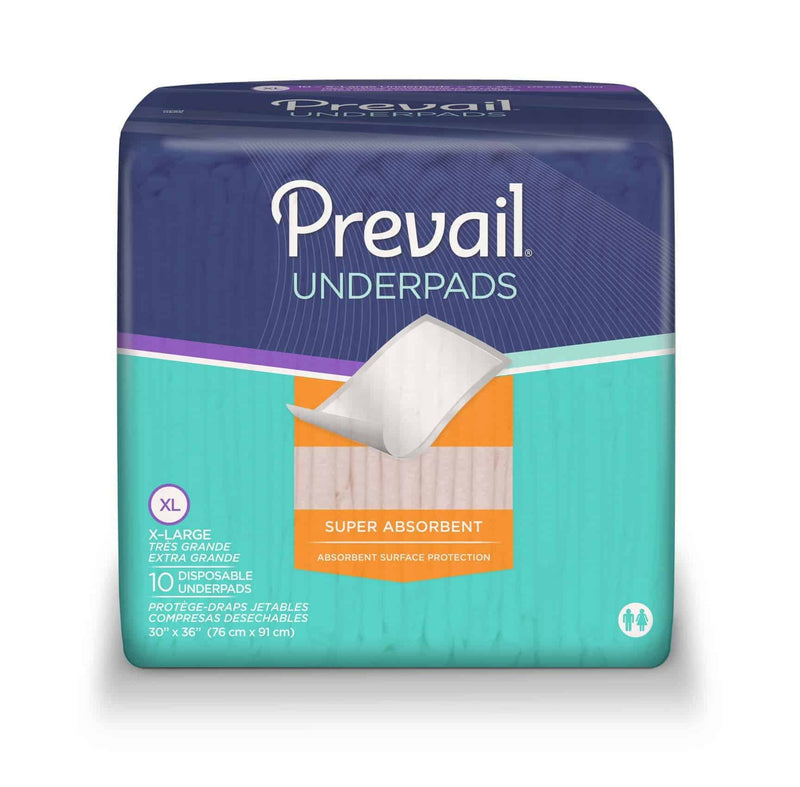 "Prevail Disposable Underpads X-Large 30"" x 36"""