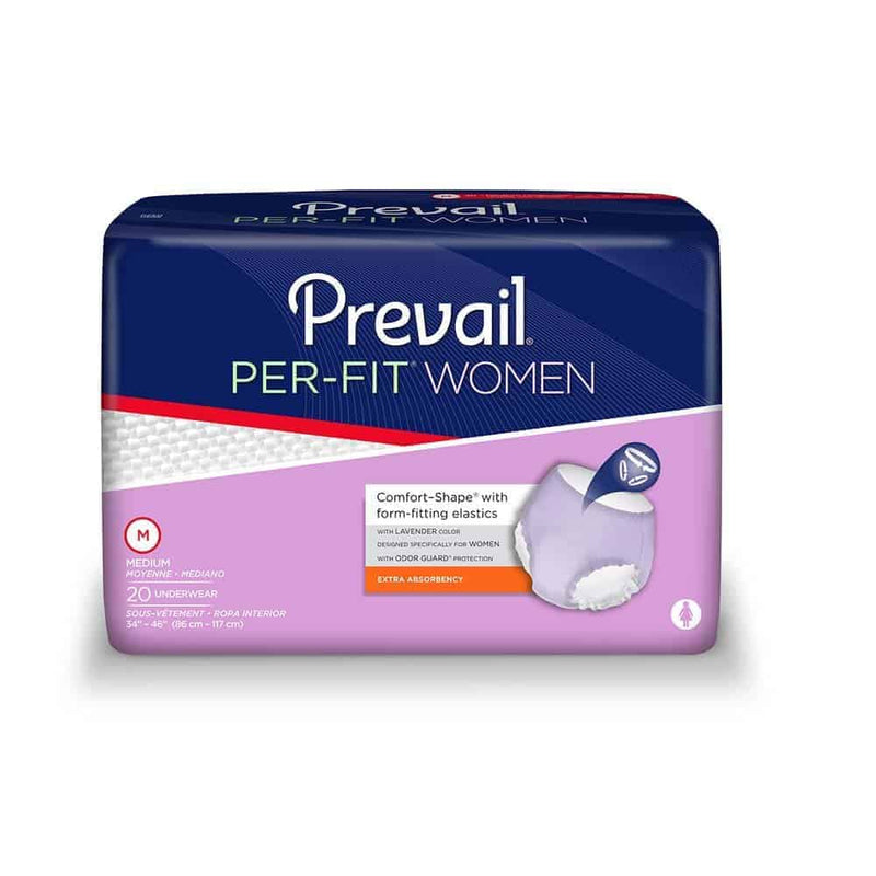 "Prevail Per-Fit Protective Underwear for Women, Medium fits 34"" - 46"""