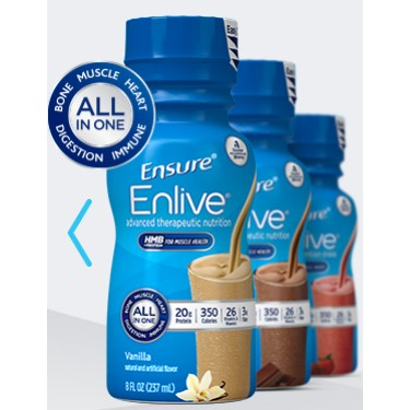 Ensure Enlive, Strawberry, 8 fl oz Retail Bottle