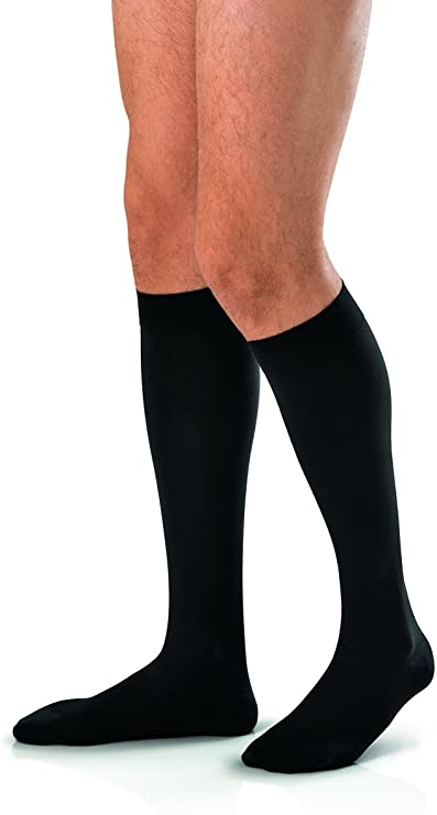 UltraSheer Knee-High Extra-Firm Compression Stockings X-Large, Black