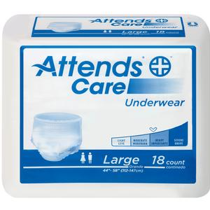 Attends® Incontinence Underwear, Moderate-Heavy Absorbency, Adult, Unisex