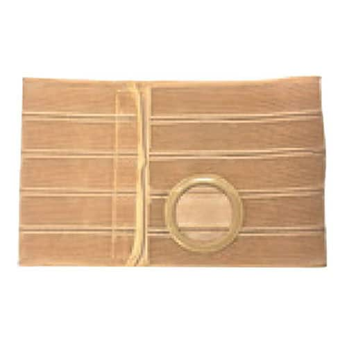 "Nu-Form Beige Support Belt 2-3/8"" Opening 1-1/2"" From Bottom 9"" Wide 41"" - 46"" Waist X-Large"