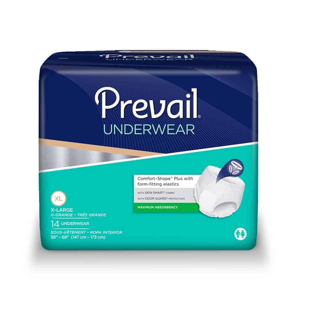"Prevail Super Plus Underwear X-Large 58"" - 68"""