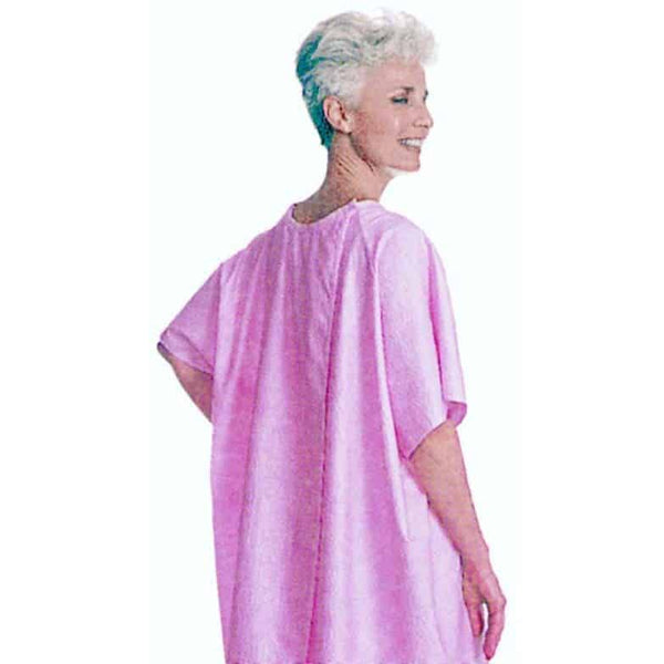 Adult Patient Gown, Pink