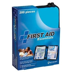 All Purpose First Aid Kit, Softsided, 200 Pieces - Medium