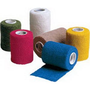 "Coban Non-Sterile Self-Adherent Wrap 3"" x 5 yds., Color Assortment"