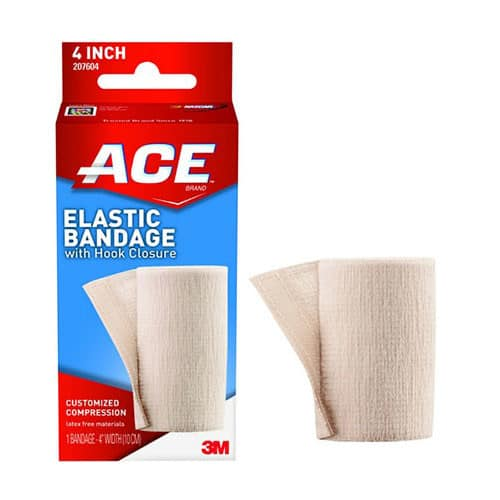 Ace Bandage with Velcro, 4""