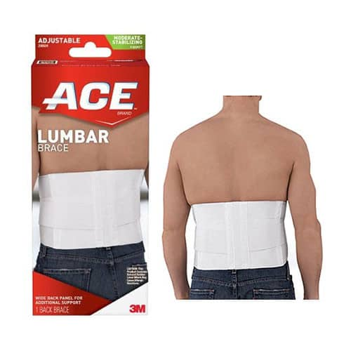 Ace Lumbar Support with Six Rigid Stays, One Size