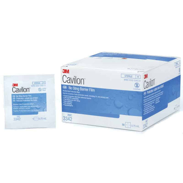 3M Cavilon No Sting Barrier Film, .75ml Wipes, Alcohol-Free
