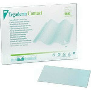 "Tegaderm Non-Adherent Contact Layer Dressing 3"" x 4"""