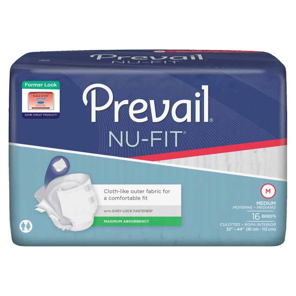 "Prevail Nu-Fit Adult Brief Medium 32"" - 44"""