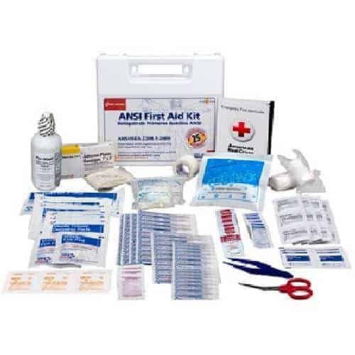 25-person 110-Piece ANSI First Aid Kit