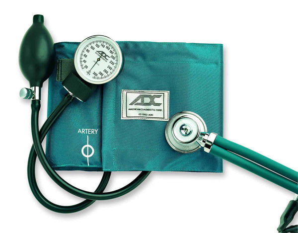 Pro's Combo II Kit Cuff and Stethoscope, Teal