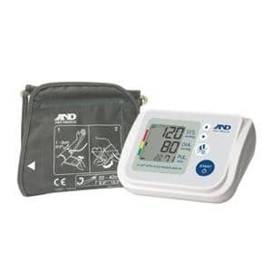 Multi-User Upper Arm Automatic Blood Pressure Monitor with AccuFit Plus Wide Range Cuff