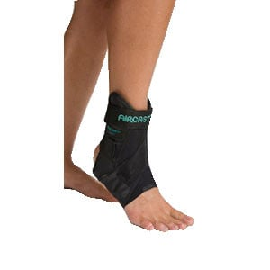 Airsport Ankle Brace, Large, Right,Latex Free