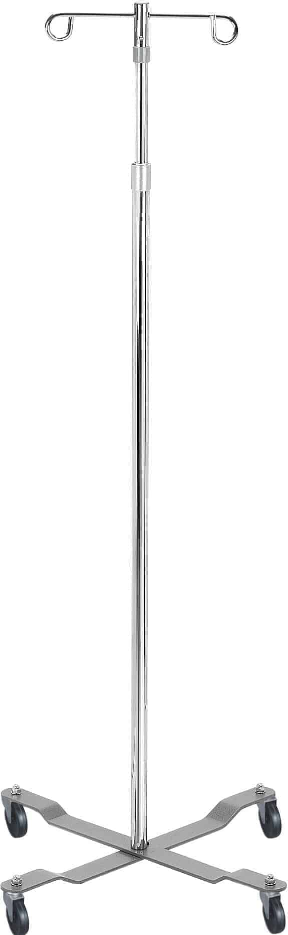 IV Pole, Silver Vein Finish