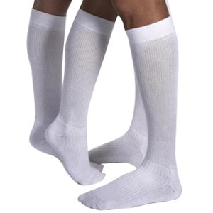 JOBST ActiveWear Knee-High Extra Firm Compression Socks Large, Black