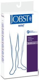 Relief Knee-High Extra Firm Compression Stockings Medium, Beige