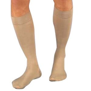 Relief Knee-High Moderate Compression Stockings Medium, Black