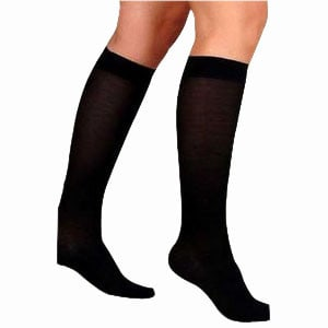 UltraSheer Knee-High Firm Compression Stockings X-Large Full Calf