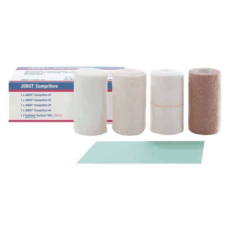 Jobst Comprifore 4-Layer Compression Bandaging System for Reduced Compression