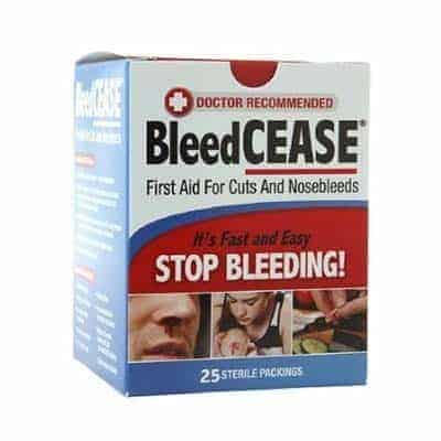 BleedCease, Sterile pack of 25