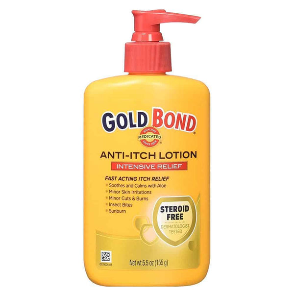 Gold Bond Medicated Anti-Itch Lotion, 5.5 oz.