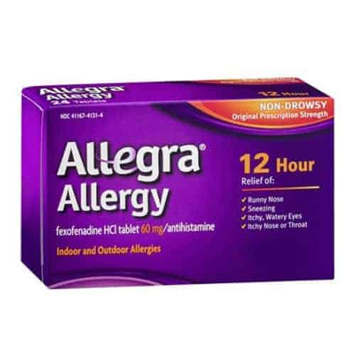 Allegra Allergy 12 Hour Non Drowsey Tablet
