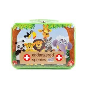 Endangered Species Large First Aid Kit in Tin