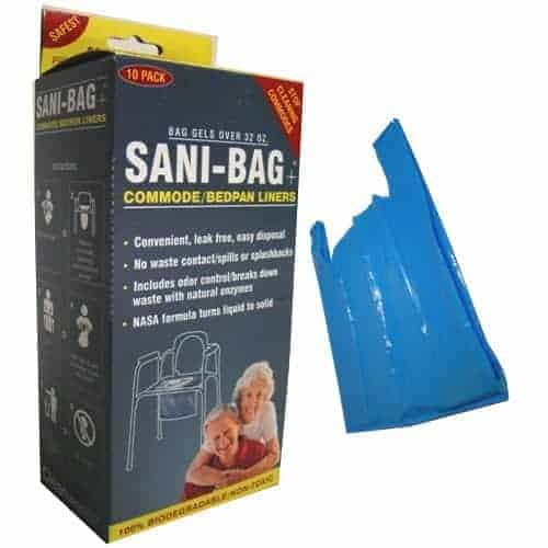 Sani-Bag Commode Liner with Handles