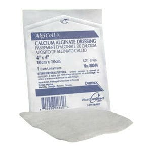 "Algicell Calcium Alginate Dressing 4"" x 4"""