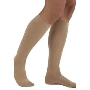 Carolon Company ATS™ Multi-Layer Ulcer Stockings Knee-High Size D Short, Beige