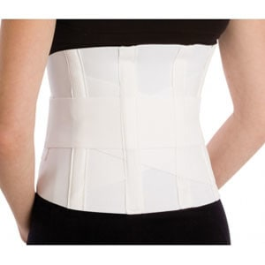 "Criss-Cross Support with Compression Strap, Large, 36"" - 42"" Waist Size"