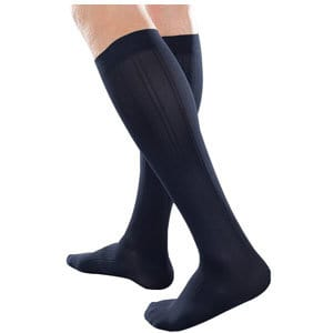 Ambition Knee-High, 30-40, Regular, Navy, Size 3