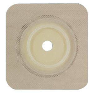 "Securi-T USA Standard Wear Wafer Tan Tape Collar Pre-Cut 1-1/8"" (4-1/4"" x 4-1/4"")"