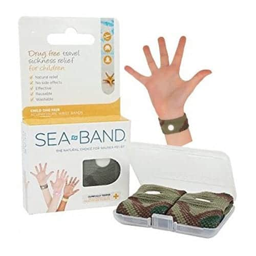 Sea-Band Wrist Band, Child, Camouflage