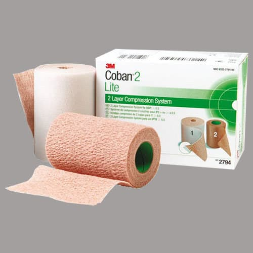 Coban Latex-Free 2-Layer Lite Compression System