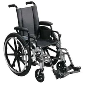 "Drive Medical Lightweight Wheelchair Viper 14"", Black"