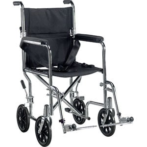"Drive Medical Deluxe Go-Kart Transport Chair 19"", lightweight"