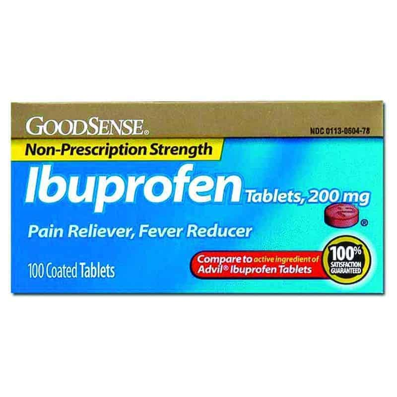 Ibuprofen Tablet, 200 mg (100 Count)
