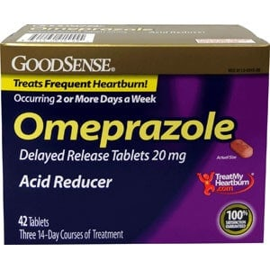 Omeprazole Tablet, 20 mg (42 Count)