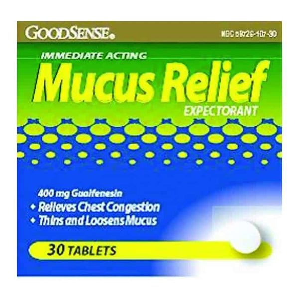 Mucus Relief Expectorant Tablet (30 Count)