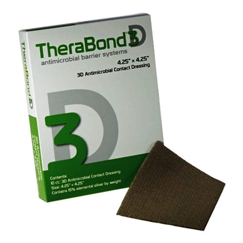 Therabond® 3D Antimicrobial Systems with Silvertrak™ Technology