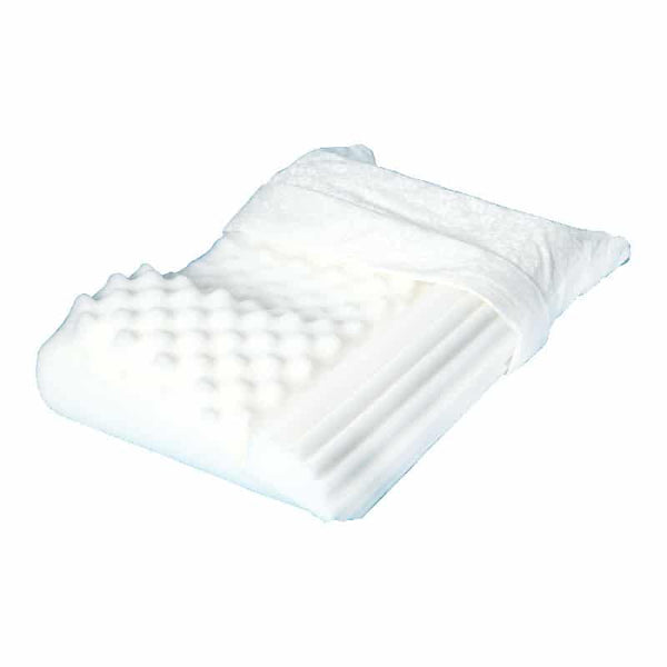 "No Snore Pillow, 19"" x 15"", White"