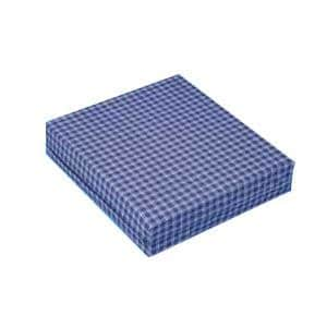 Hermell Products Foam Wheelchair Cushion Plaid