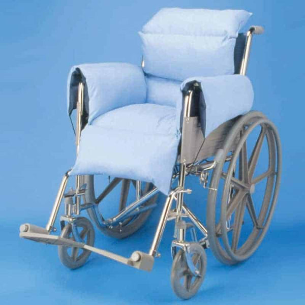 Hermell Total Comfort Cushioned Wheelchair Liner Blue