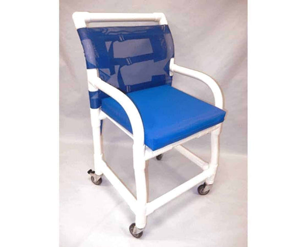 Healthline PVC Shower Commode Chair