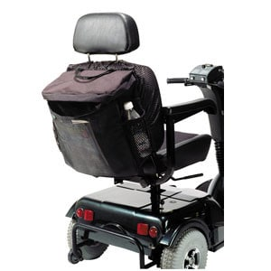 "Scooter and Power Chair Pack Medium Sleeve, 16"" x 14-1/2"" x 6"", Black"
