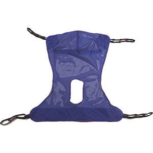 Reliant Full Body Sling with Commode Medium