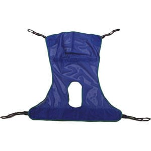 Reliant Full Body Sling with Commode Large